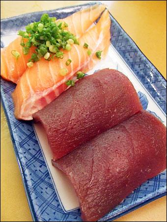 Tuna and Salmon