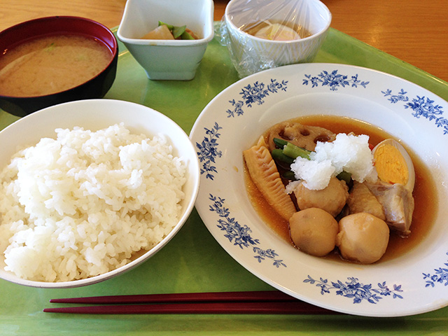 Healthy Set Meal with Soft-Boiled Egg