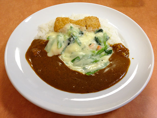 Fried Salmon Curry