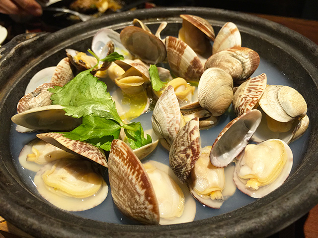 Asari Clams with Butter