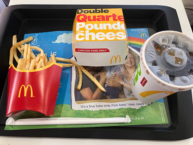 Double Quarter Pounder with Cheese Set Meal
