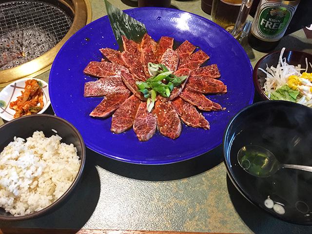 Extra-Large Helping of Yakiniku Set Meal