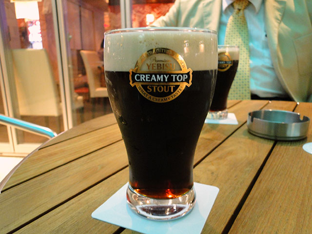 YEBISU CREAMY TOP STOUT