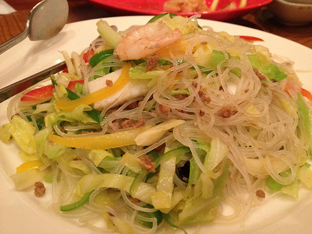 Stir-Fried Seafood Rice Noodles