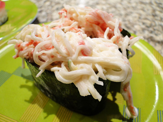 Imitation Crab Salad Sushi