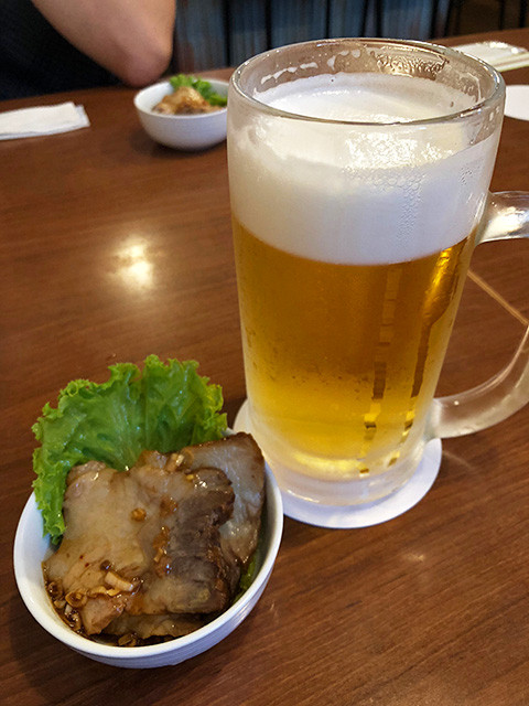 Draft Beer with Appetizer