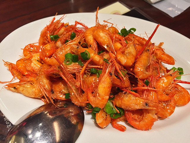 Fried River Shrimp