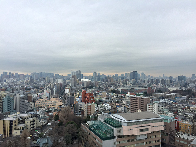 Landscape from Hakusan Sky Hall