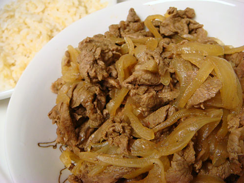 Stewed Beef with Sprouted Brown Rice