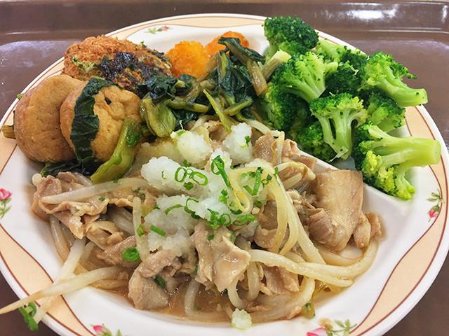 Lunch at Chiba University