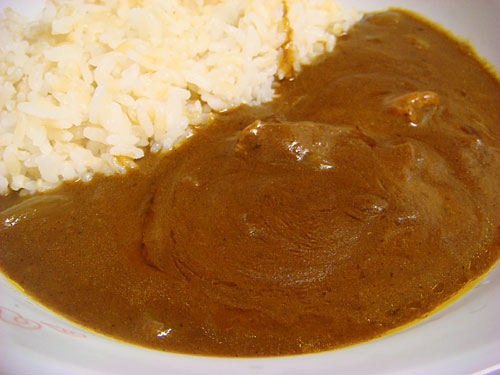 Pork Curry with Sprouted Brown Rice