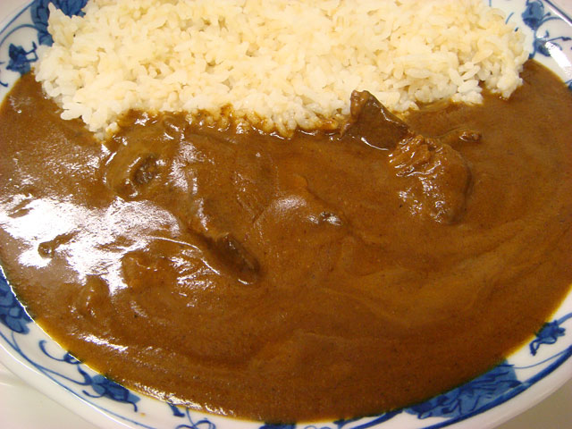 Beef Curry with Sprouted Brown Rice