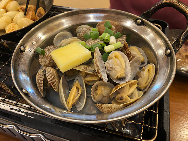 Boiled Asari Clams