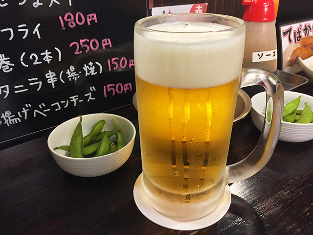 Boiled Soybeans and Beer