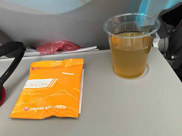 In-Flight Snack
