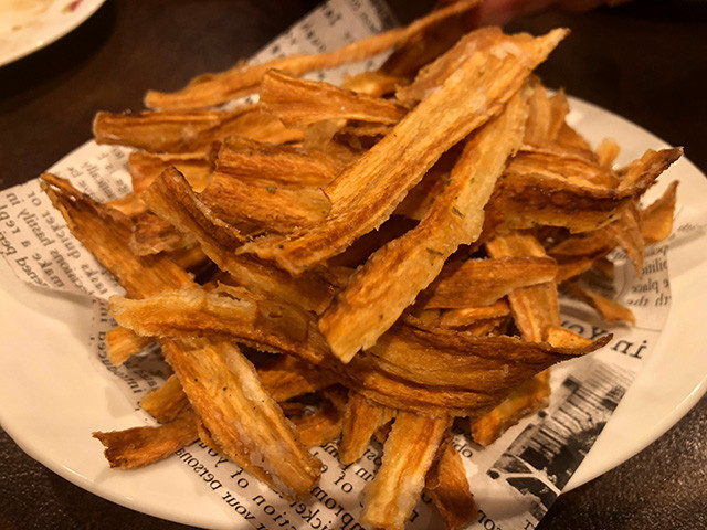Burdock Root Chips