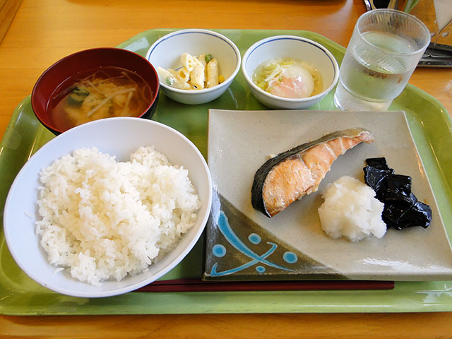 Grilled Salted Salmon Set