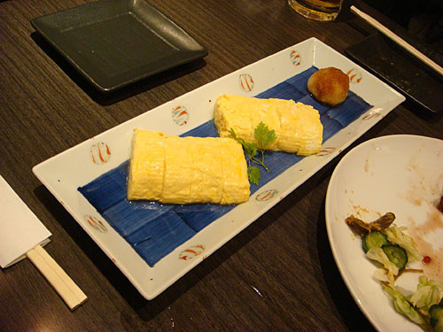 Rolled Egg with Cheese