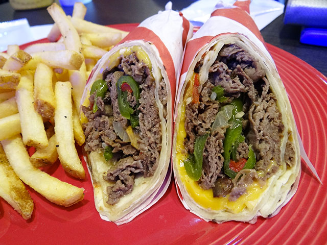 PHILLY CHEESE STEAK WRAPPER