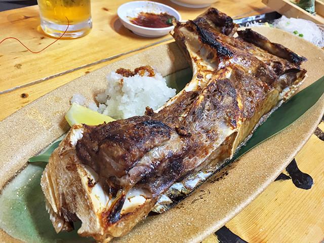 Grilled Tuna Gill