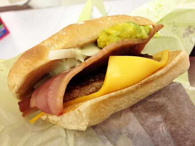 Avocado Beef Burger