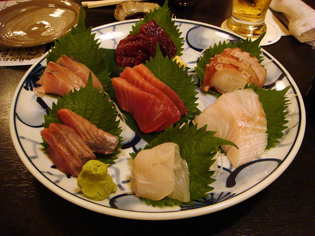 Chef's Choice 7-Sashimi Sampler