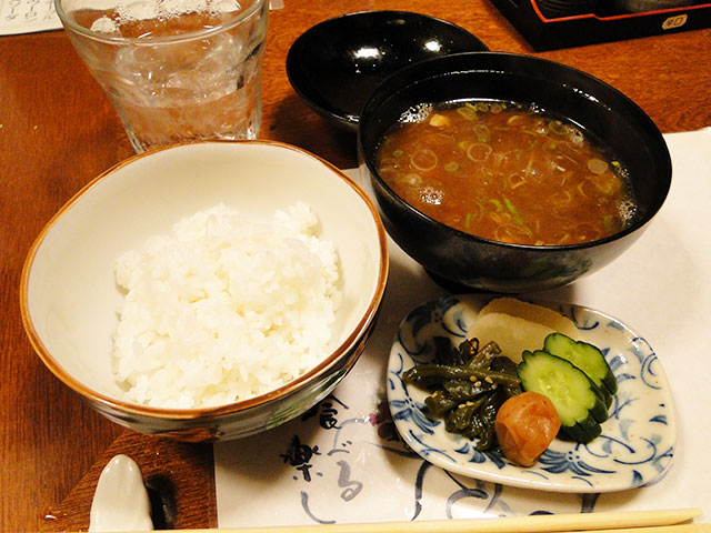 Rice with Miso Soup