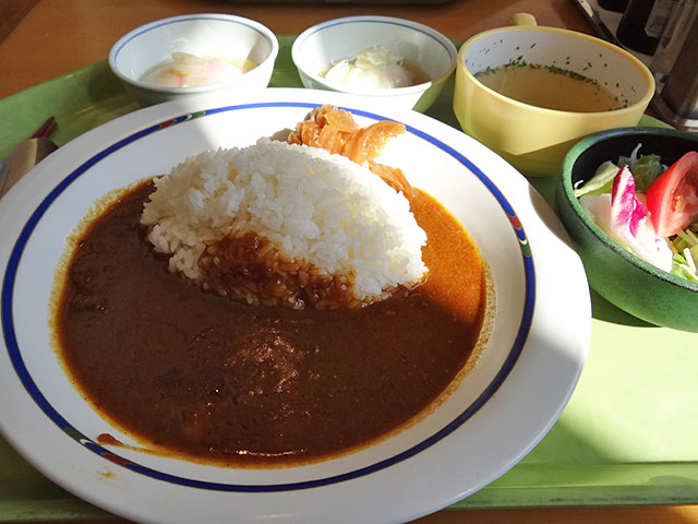 Beef Curry with Soft-Boiled Eggs