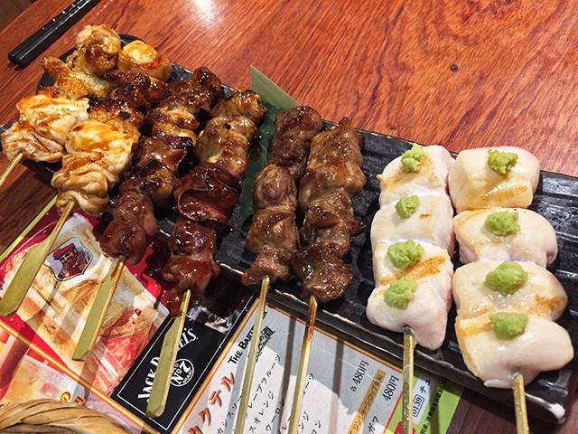 Assorted Yakitori