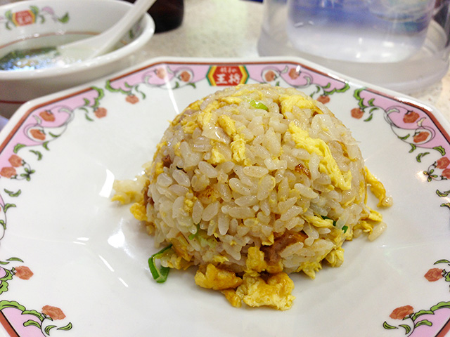 Mini Fried Rice with Roasted Pork and Egg