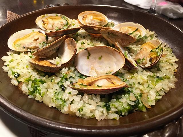 Clam Paella