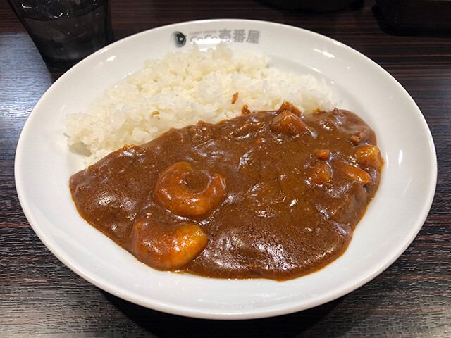 Mini Beef Curry with Stewed Shrimps