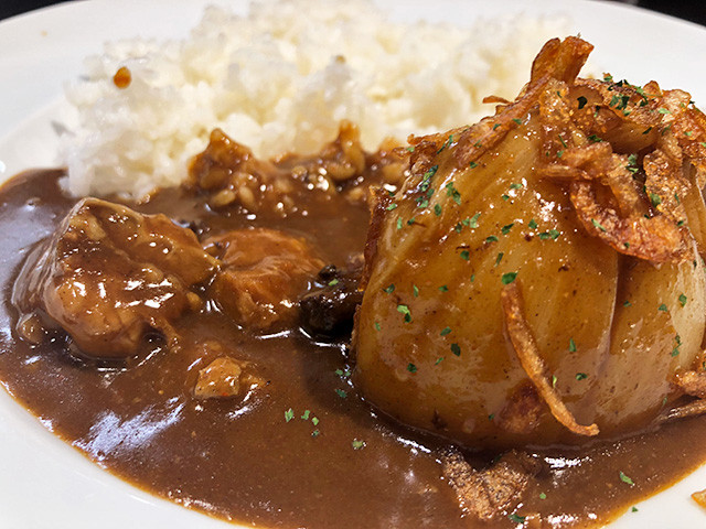 Beef Curry with Awaji Island's Onion