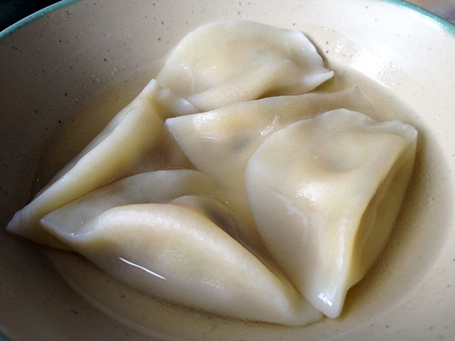 Boiled Pork Dumplings