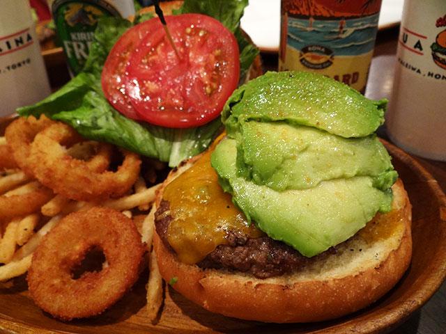 Avocado Burger with Cheese