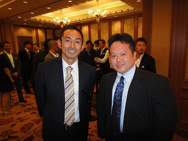 Mr. Tamesue and Dr. MaCHO