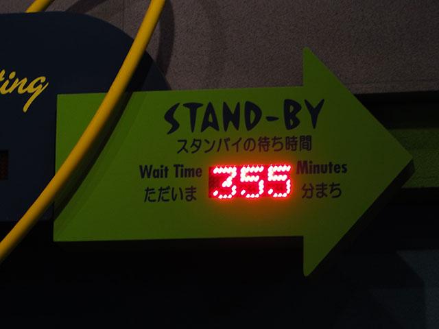 Wait Time 355 Minutes
