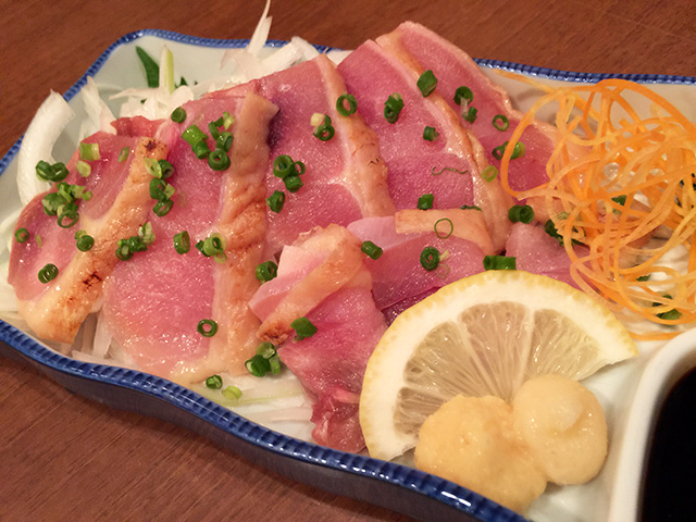 Local Chicken Sashimi