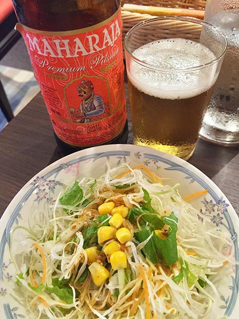 MAHARAJA and Salad