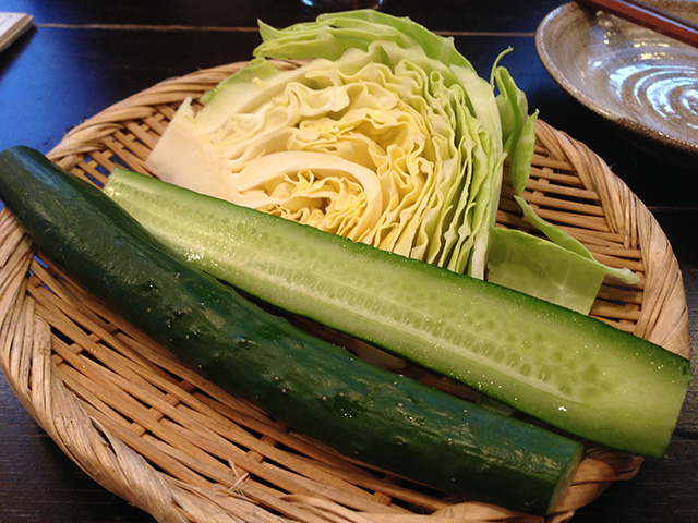Cabbage and Cucumber