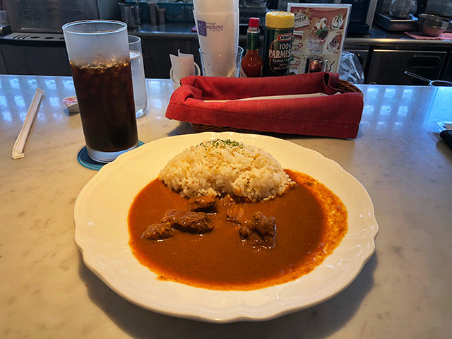 Kyoto University President's Special Beef Curry