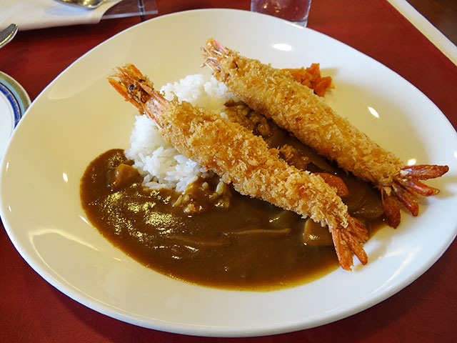 Fried Prawn Curry