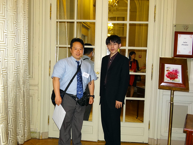 With Mr. Yoshihiro Ota