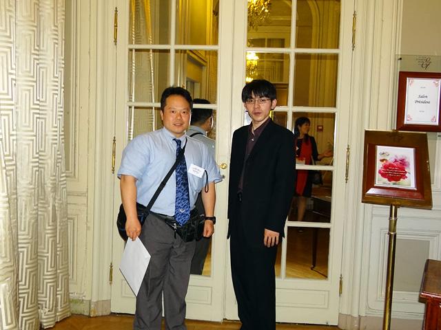 With Mr. Yoshihiro Ota