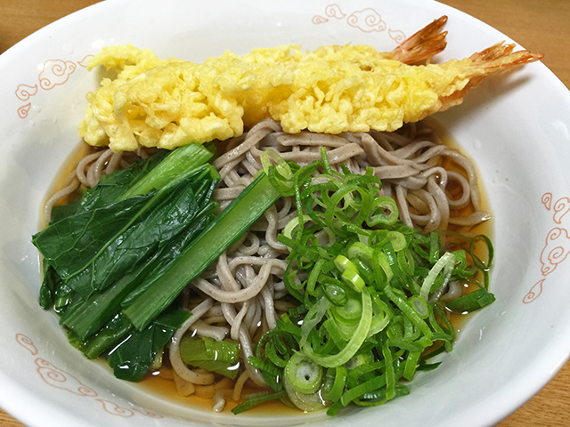 Year-Crossing Soba Noodles