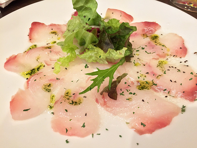 Flatfish Carpaccio