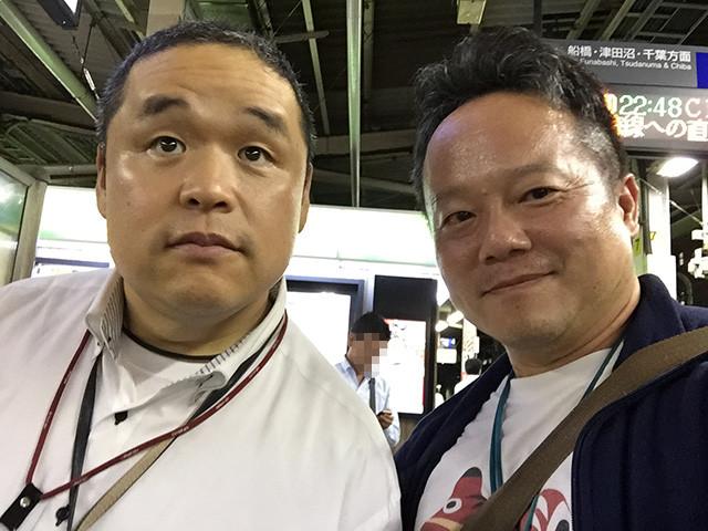 Mr. Tokumori and Dr. MaCHO
