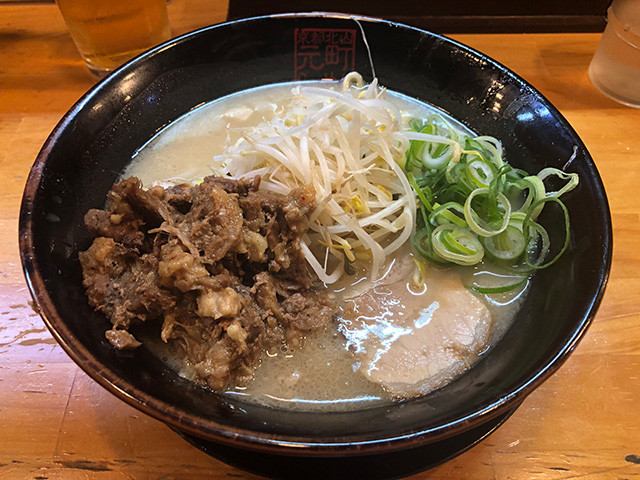 Beef Tendon White Ramen