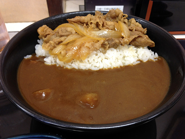 Curry and Rice with Stewed Beef