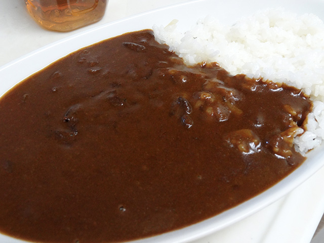 The HOTEL CURRY with Rice